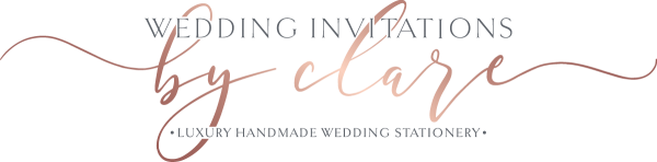 Wedding Invitations by Clare